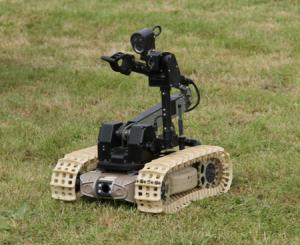 Tracked mobile robotic platforms